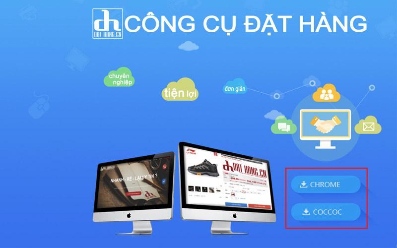 Cài đặt công cụ của iChina Company để order phụ kiện trên Taobao